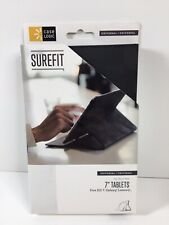 "Case Logic Universal 7"" Tablet Case With Stand Black New 3203700"