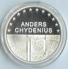 Finland 10 euro 2003 Proof zilver PP: Anders Chydenius