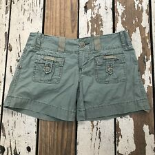 ROXY Quiksilver • Woman's Junior Military Inspired Shorts size 5