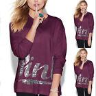 Women Long Sleeve Hoodie Sweatshirt Sweater Casual Hooded Coat Pullover Tops