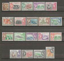 DOMINICA 1954-62 SG 140/58 USED Cat £50