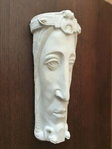 ART NOUVEAU NORTHERN JUGENDSTIL MASCARON MASC maske HANGING LARGE character