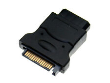 2pcs SATA (Male)Power Cable to Molex 4-pin IDE Drive Adapter for Hard Disk PC