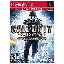 Call of Duty: World at War -- Final Fronts Greatest Hits (Sony PlayStation 2, 2…