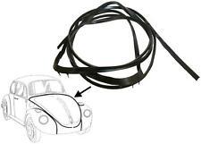 VW Beetle Reproduction Bonnet Rubber Seal T1 Brazil Front Body 1960-1979 Black