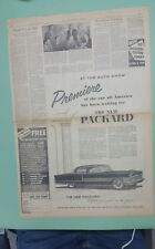 1955 Packard Patrician newspaper ad