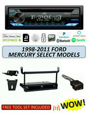 JVC KD-TD71BT Stereo Kit for Select 1998-2011 Ford Mercury Lincoln Mazda, ALEXA