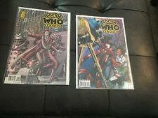 Doctor Who Classics #5 And #7 Comics