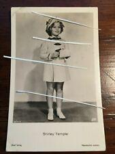1936 Shirley Temple antique RARE vintage Postcard