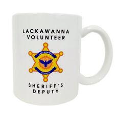 Lackawanna Volunteer Sheriff's Deputy Coffee Mug Dwight Schrute The Office TV