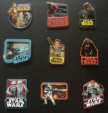 Disney New Star Wars The Force Awakens Countdown Complete Disney Pin Set Of 9 Le