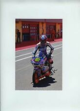Esteve Rabat Aprilia 125 Moto GP Mugello 2009 Signed Photograph