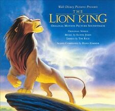 Walt Disney LION KING Motion Picture Soundtrack Slightly Used 1994 Music CD
