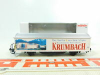BS539-0, 5 # Märklin H0/AC 31967 Sliding Wall Wagon Krumbach Nem Kk Mint; Box