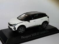 Peugeot 3008 GT Hybrid4 de 2020  au 1/43 de NOREV 473920