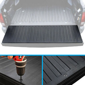 Pickup Truck Bed Tailgate Mat /Rubber Liner for 07-17 Chevy Silverado GMC Sierra