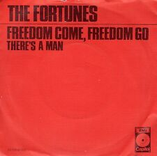 7inch THE FORTUNES freedom come, freedom go ORANGE COVER EX 1971