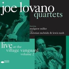 JOE LOVANO QUARTETS LIVE AT THE VILLAGE VANGUARD VOL. 2 LP VINYL SET NEW