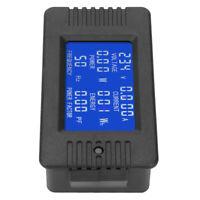 PEACEFAIR AC Multifunction Digital Meter Power Energy Voltage Current Tester 10A
