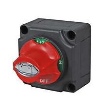 Genuine Durite 0-605-09 Marine Type Rotary Battery Isolator Change Over Switch