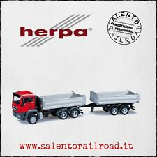 HERPA 301909 MAN TRUCK TOW BOX OPEN - 1/87