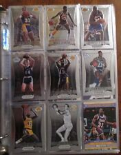 RARE HUGE INSERT LOT OF OVER 250 CARDS LOS ANGELES LAKERS CHAMBERLAIN MAGIC $$$