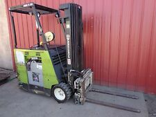 Clark Electric Forklift Lift Truck w Charger ESM II-20 35DS-CS ESMII-20 3,100lbs
