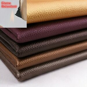 PVC Leather Fabric Flame Retardant Wall Background Sofa Upholstery Material Soft
