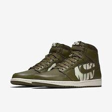 Nike Air Jordan 1 Retro High OG size 9. OLIVE Green Sail. Canvas. 555088-300.