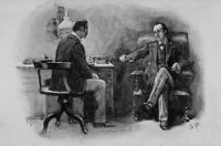 Holmes and Watson : Sidney Paget :  Archival Quality Print Suitable for Framing