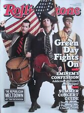GREEN DAY May 2009 ROLLING STONE Magazine EMINEM STEVE EARLE IDOL'S ADAM LAMBERT