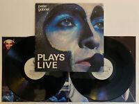 Peter Gabriel - Plays Live - 1983 US 1st Press (NM) Ultrasonic Clean