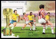 1983 Brazil Brasil World Cup Soccer Champions, Souvenir Sheet S/S - Mnh*