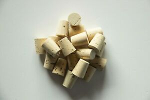 CorkBottle Stoppers/Crafts Conical 100%Natural - 25,5x20,5x16mm/1,00x0,80x0,62in