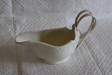 Leeds Pottery Creamware Twisted Handle Sauce or Gravy Boat