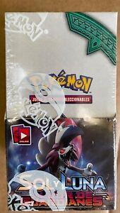 Pokemon TCG IN SPANISH Guardians Rising (Albor de Guardianes) 18 Booster box New