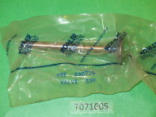 Genuine!  KOHLER 230710 exhaust valve K-141, K-161, K-181 engine part NOS! OEM!