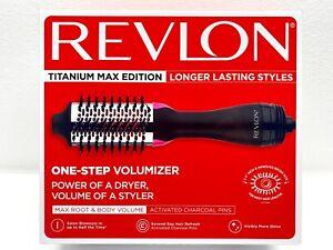 Revlon, One-Step Hair Dryer and Volumizer Titanium Max Edition - NEW In Box