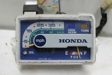 1986 HONDA SPREE 50 NQ50 SPEEDO TACH GAUGES DISPLAY CLUSTER SPEEDOMETER GOOD