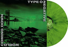 Type O Negative World Coming Down 20th Edition Vinyl Lp Green Black W/ Poster