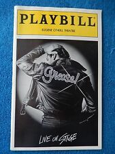 Grease - Eugene O'Neill Theatre Playbill w/Ticket - September 12th, 1995