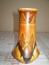 CHAMELEON WARE VASE, CLEWS & CO, TUNSTALL 1930'S
