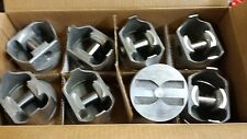 L2165F TRW FORGED PISTONS 327 CHEVY FLAT TOPS SET OF 8 STANDARD BORE