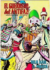 EL GUERRERO DEL ANTIFAZ (Reedición color) nº: 206.  Valenciana, 1972-1978.