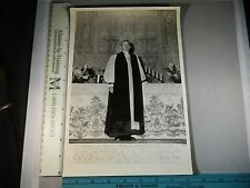 Rare Historical Original VTG 1944 Episcopal Bishop Elect Angus Dun Photo