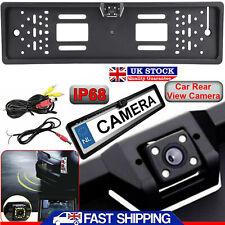 4 IR LED 170° EU Auto License Plate Mount Universal HD Rear View Backup Camera