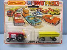 Matchbox Pressefoto 1-75 Superfast Hitch/'n Haul Two Packs 1980