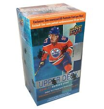 2016-17 Upper Deck Series 1 hockey cards Blaster Box with Oversize Card