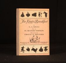 1928 The King's Breakfast A A Milne H Fraser-Simson E H Shepard When We Were Ver