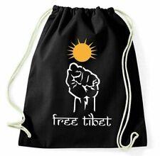 Free Tibet Turnbeutel Dalai Lama Sportbeutel Jutebeutel Rucksack Spruch